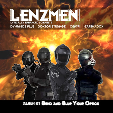 Lenzmen Album 1:Bend and Blur Your Optics