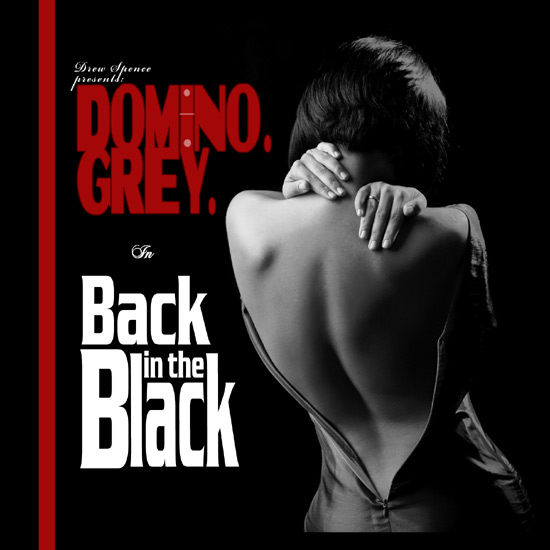 Domino Grey album cover Back in the Black