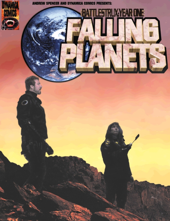 Falling Planets graphic Novel Cover