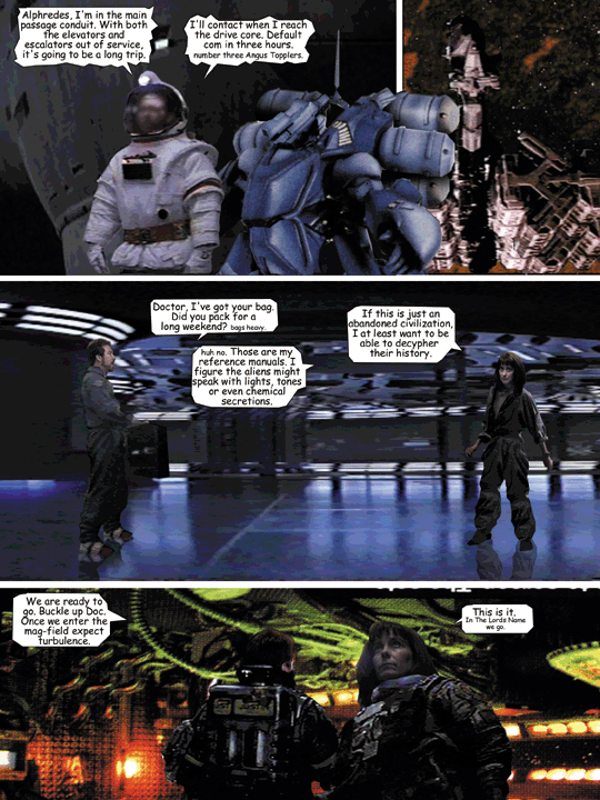 Page 15 from falling Planets Graphic Novel