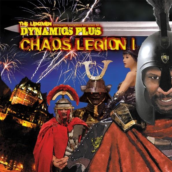 Dynamics Plus Chaos Legion early album concept art