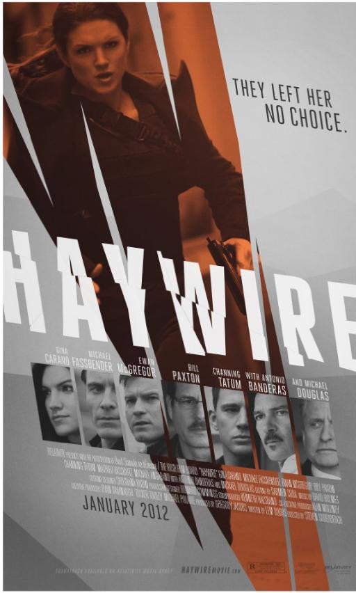 Haywire Poster (2011) Starring Gina Carano
