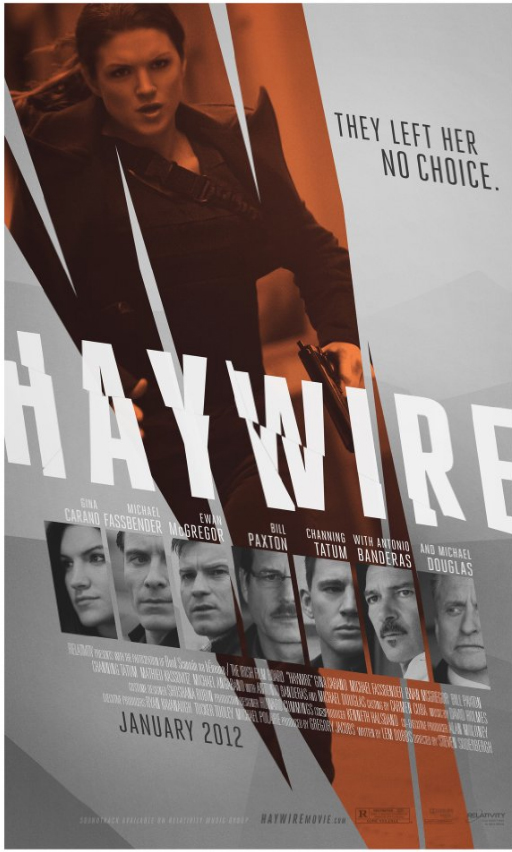Haywire Poster (2011) Starring Gina Carano