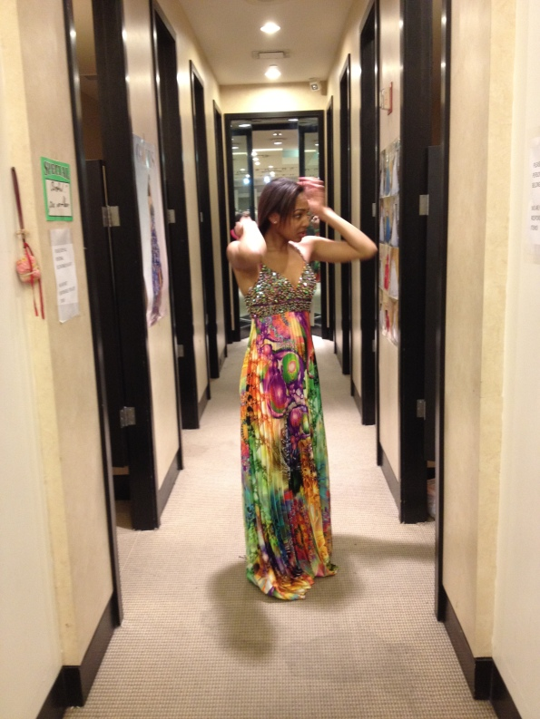 Primal Themes and the BEating of Wings Dress Fitting