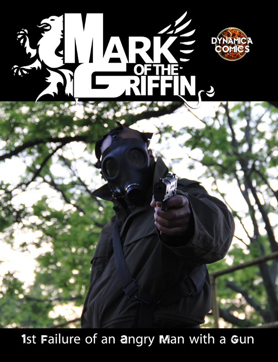 Mark of the Griffin Failure of an Angry Man with a Gun graphic Novel