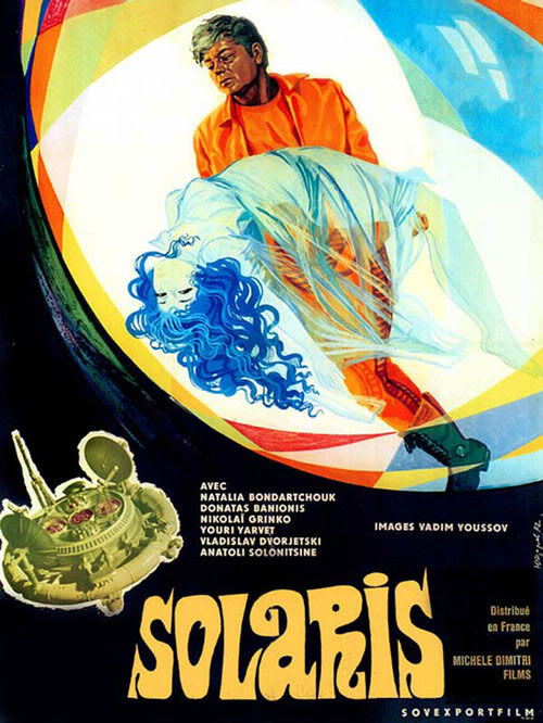 Solaris 1972 movie poster