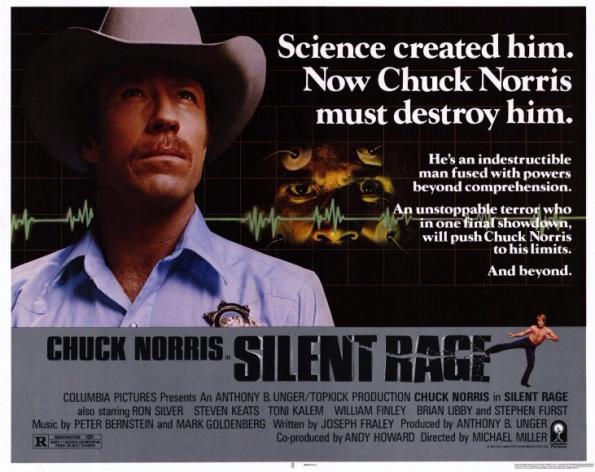 Silent Rage Movie Poster