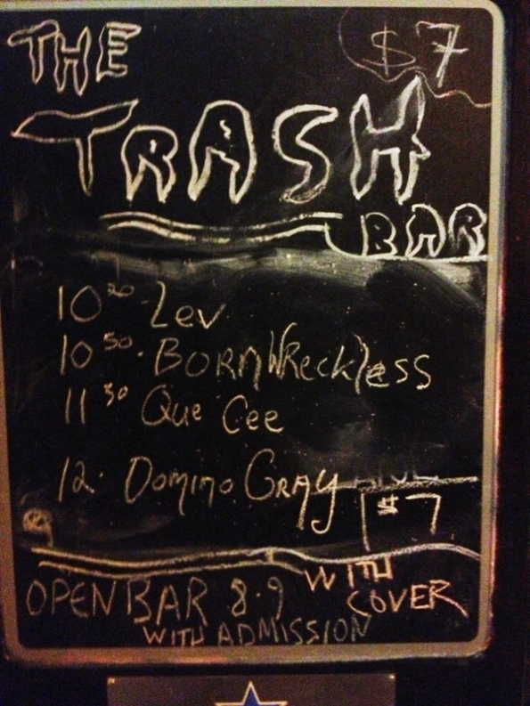 Trash-bar-Sign