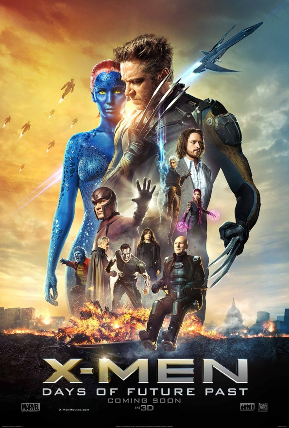 X Men movie poster