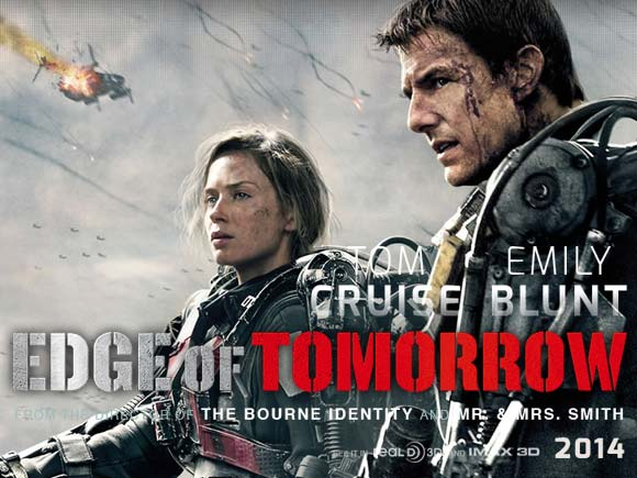Edge Tomorrow movie poster