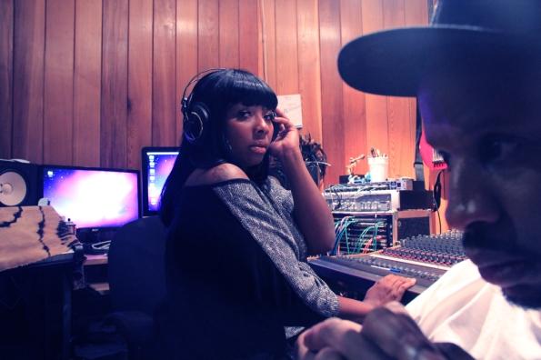 Nae B in studio