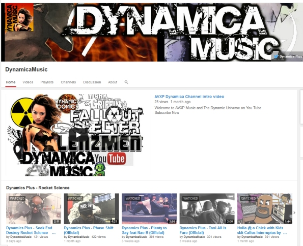 Dynamica Music Youtube banner