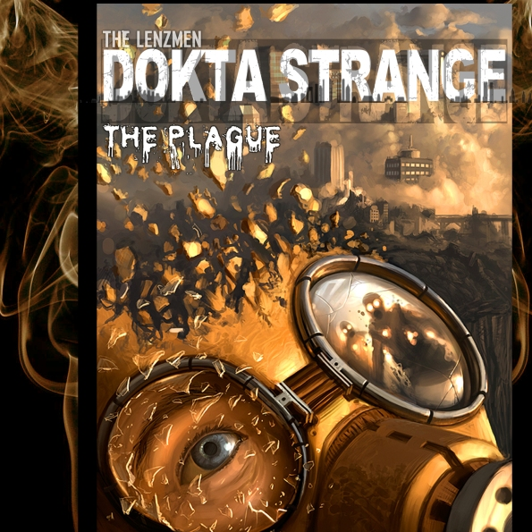 Dokta Strange The Plague album cover