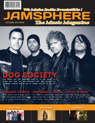 Jamsphere magazine cover October 2014