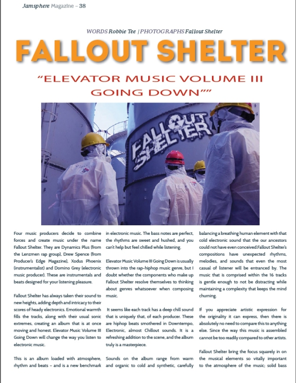 Fallout Shelter Magazine page screen capture