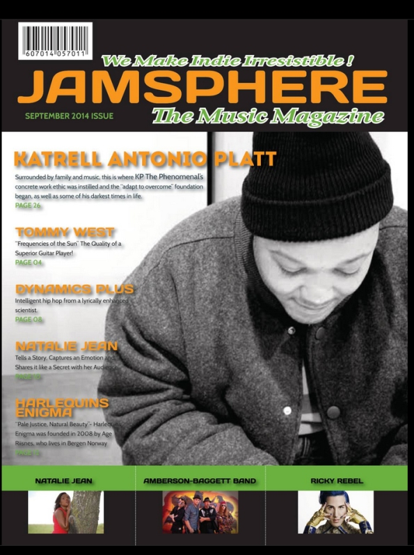 Jamsphere Magazine cover