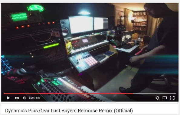 Gear Lust remix Video screen capture