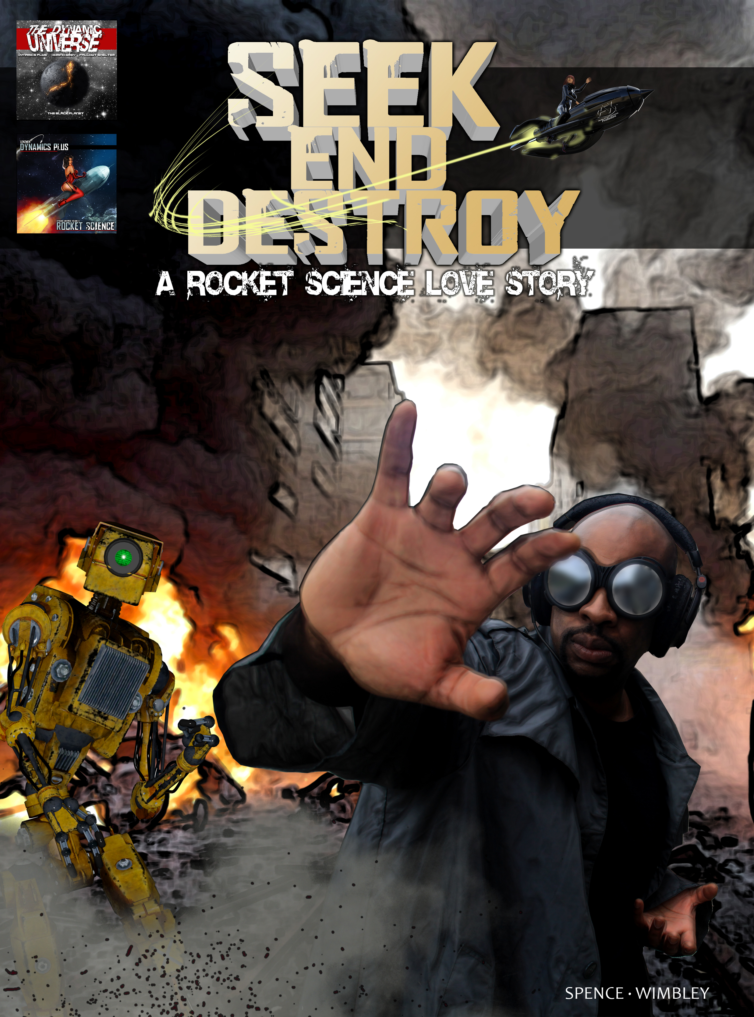 Seek End Destroy comic cover
