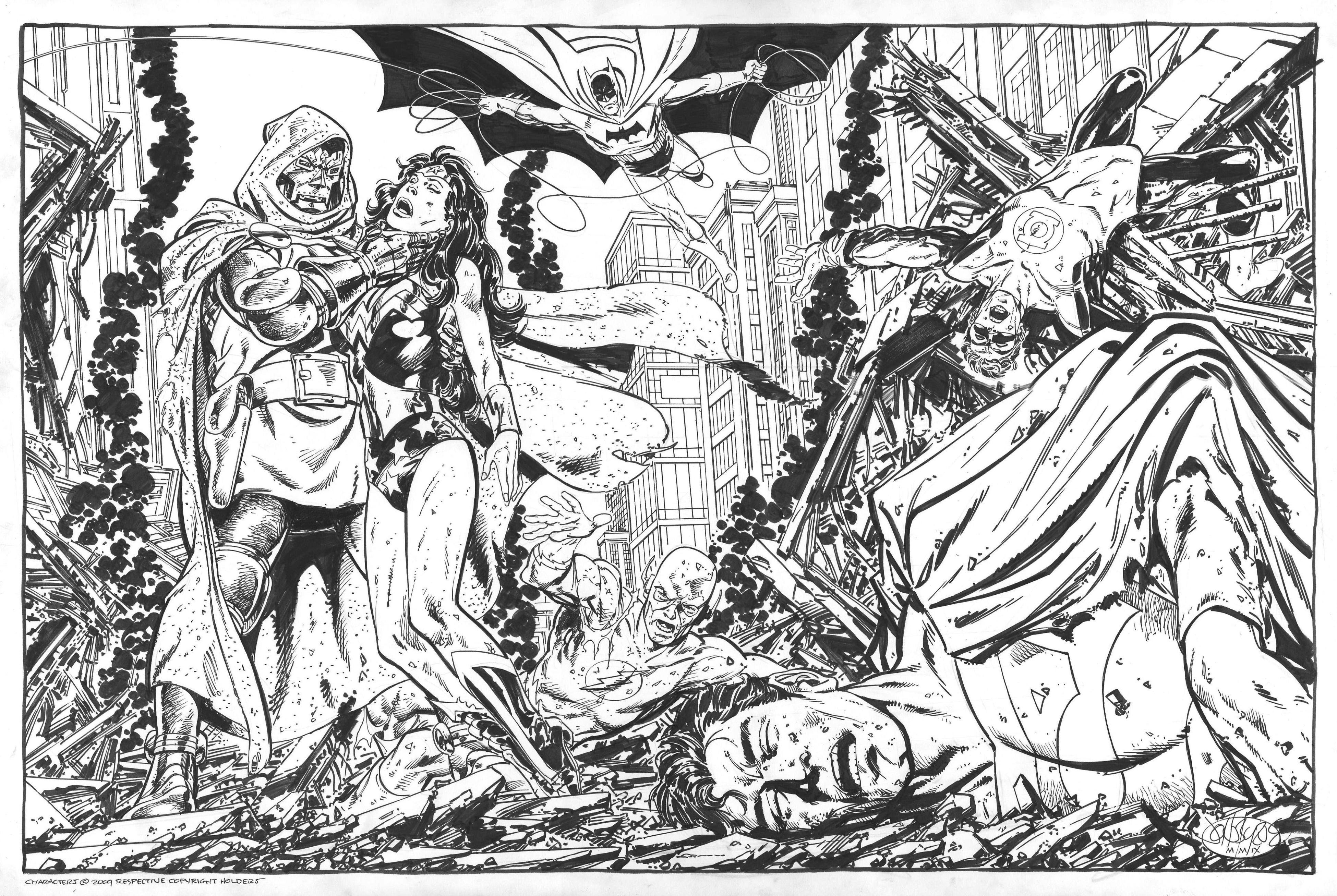 JLA / Avengers vs Dark Phoenix - John Byrne