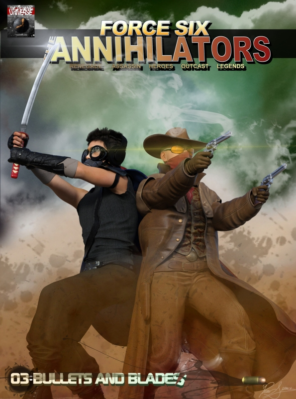 Annilators Graphic Comic cover