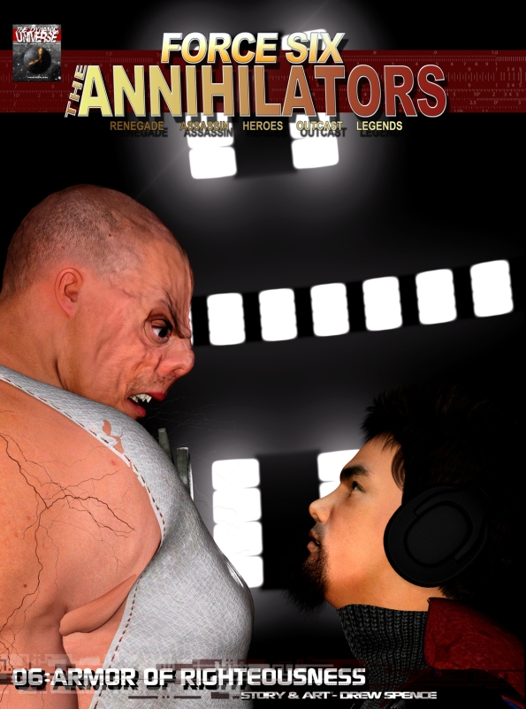 The Annihilators 06 Armor of Righteousness cover