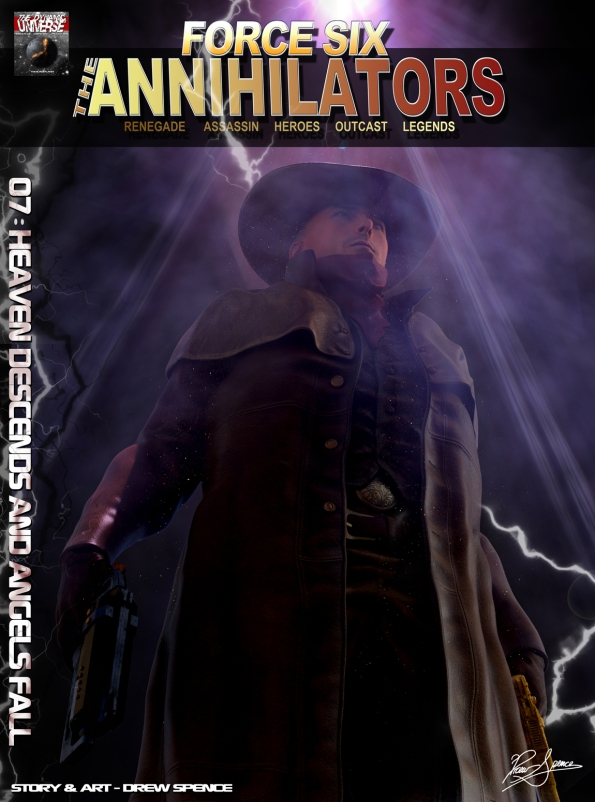 Force Six Annihilators episode 07 cover