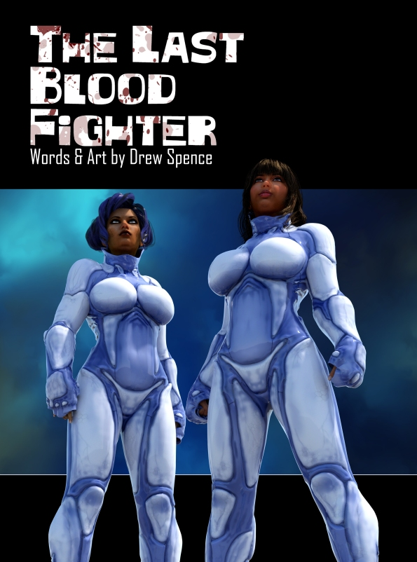 The Last Blood Fighter comic cover