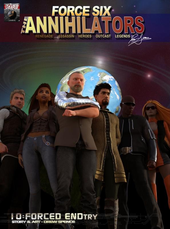Episode 10 Cover Force Six, The Annihilators