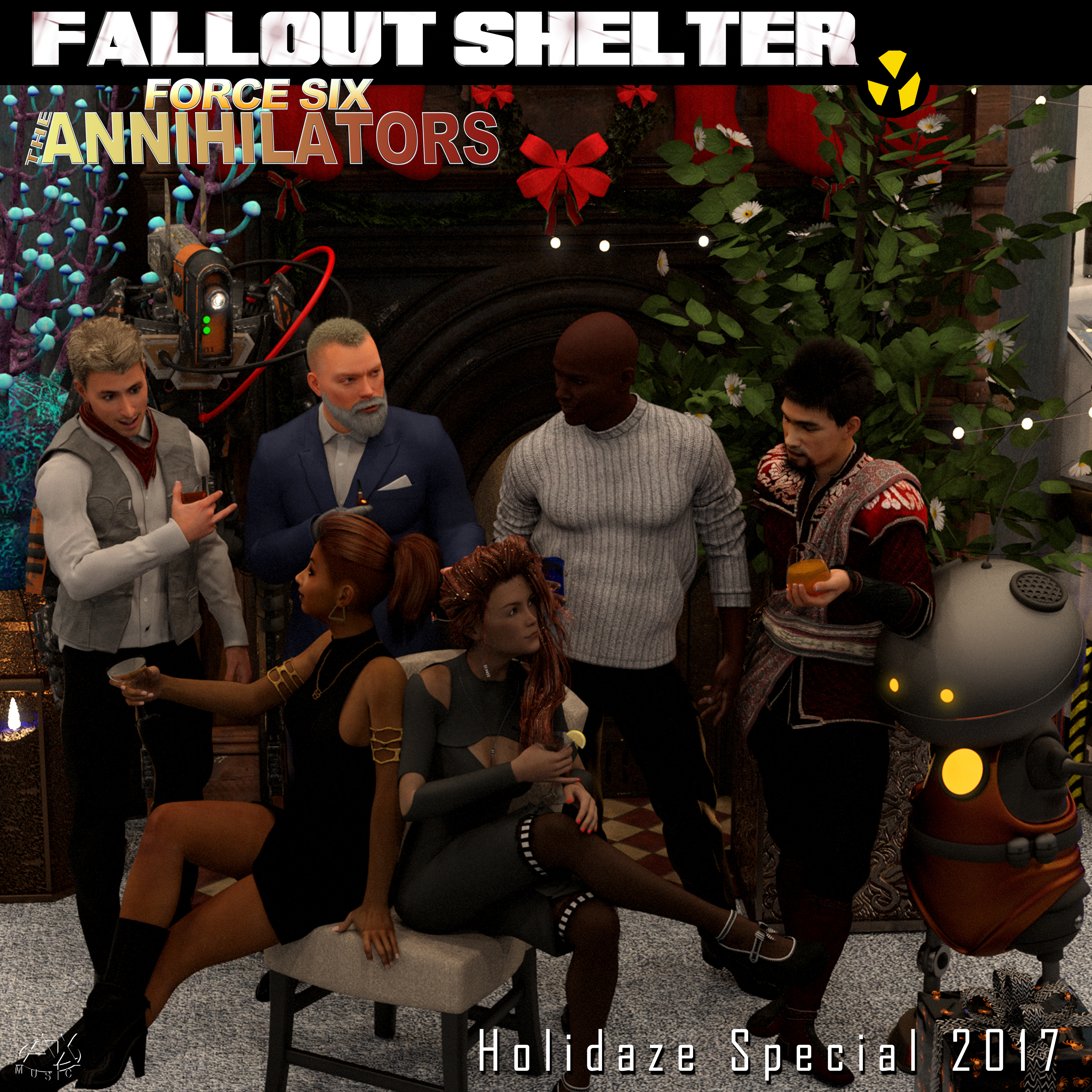 Fallout Shelter Holidaze Special COVER