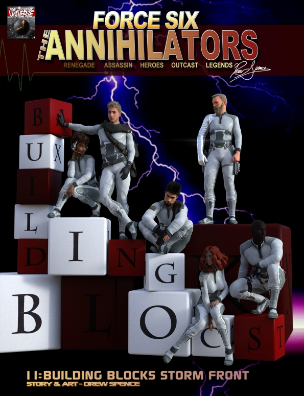 Force Six The Annihilatos episode 11 Cover