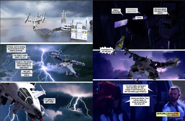 Force Six the Annihilators page samples