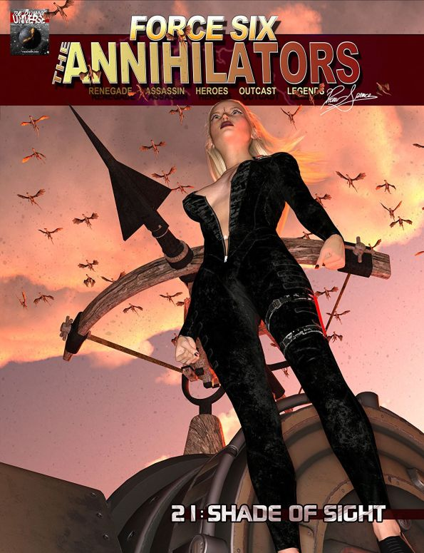 The Annihilators season II comes to an end with the final piece of the Incendiary story arc.