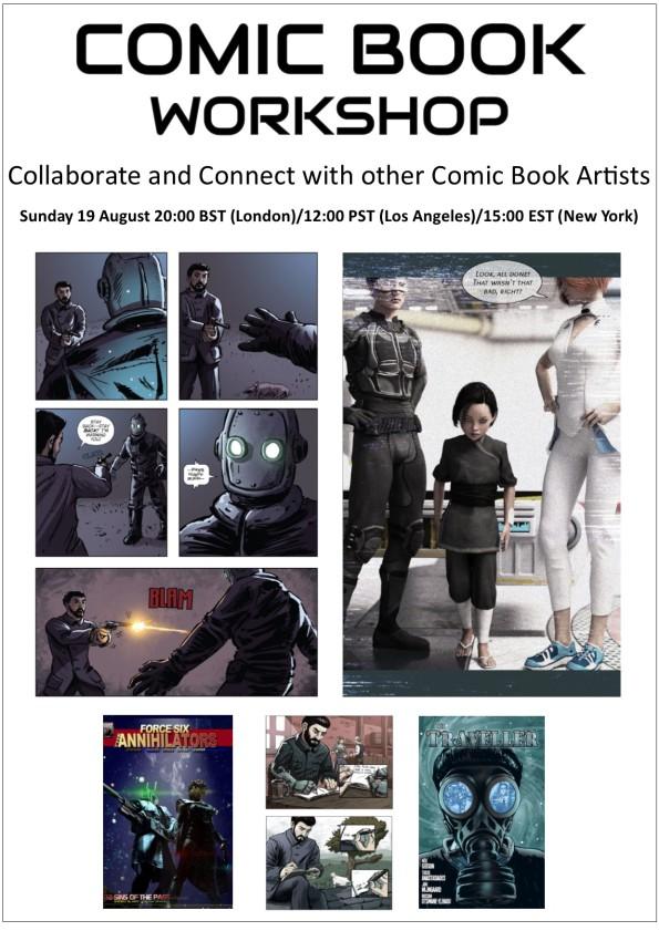 ComicWorkshopPoster