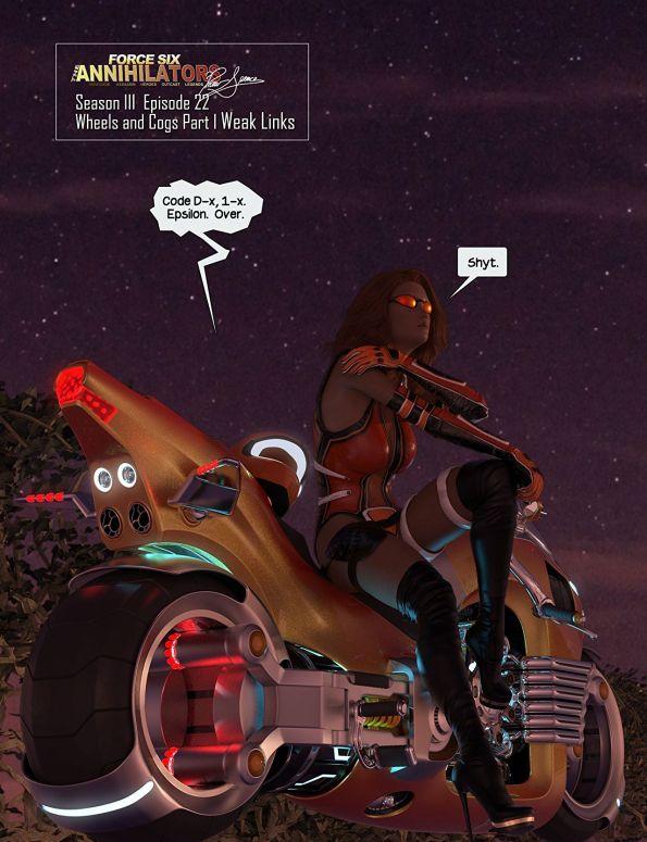 LunStar-G force Six by motortbike