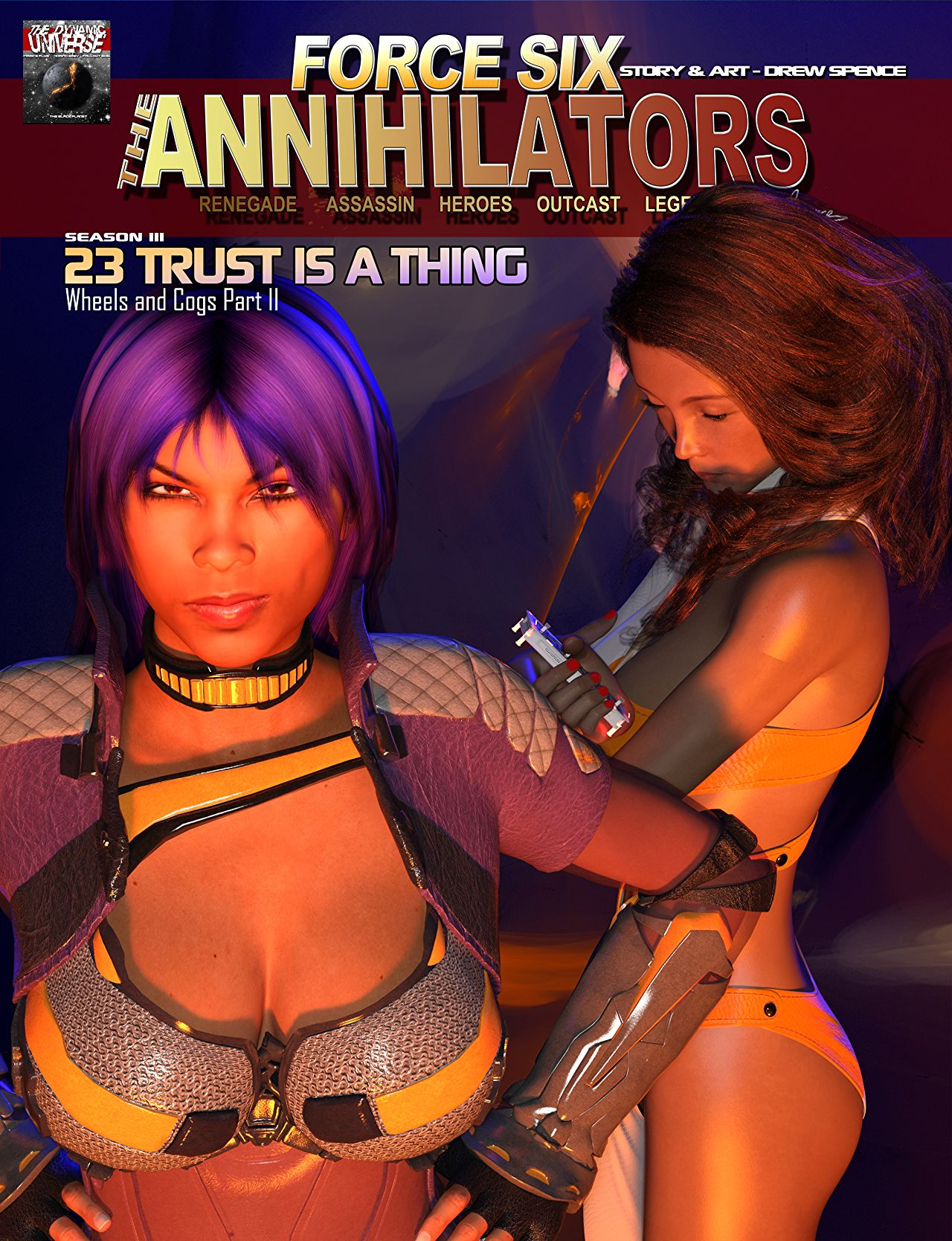 Force Six The Annihilators cover episode 23