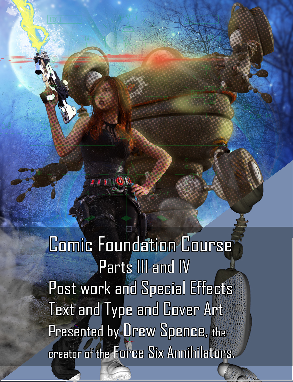Comic Foundation Art for III and IV