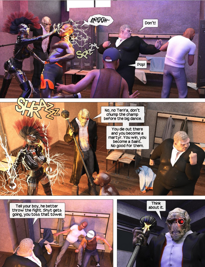 Force Six The Annihilators episode 25 page puller