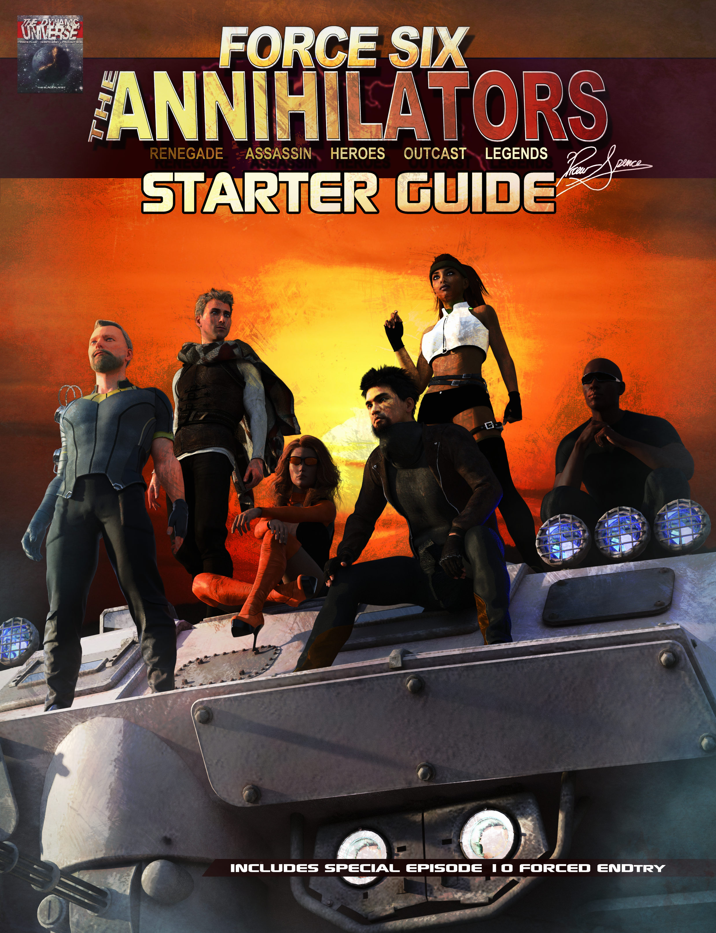 Force Six Starter Guide cover