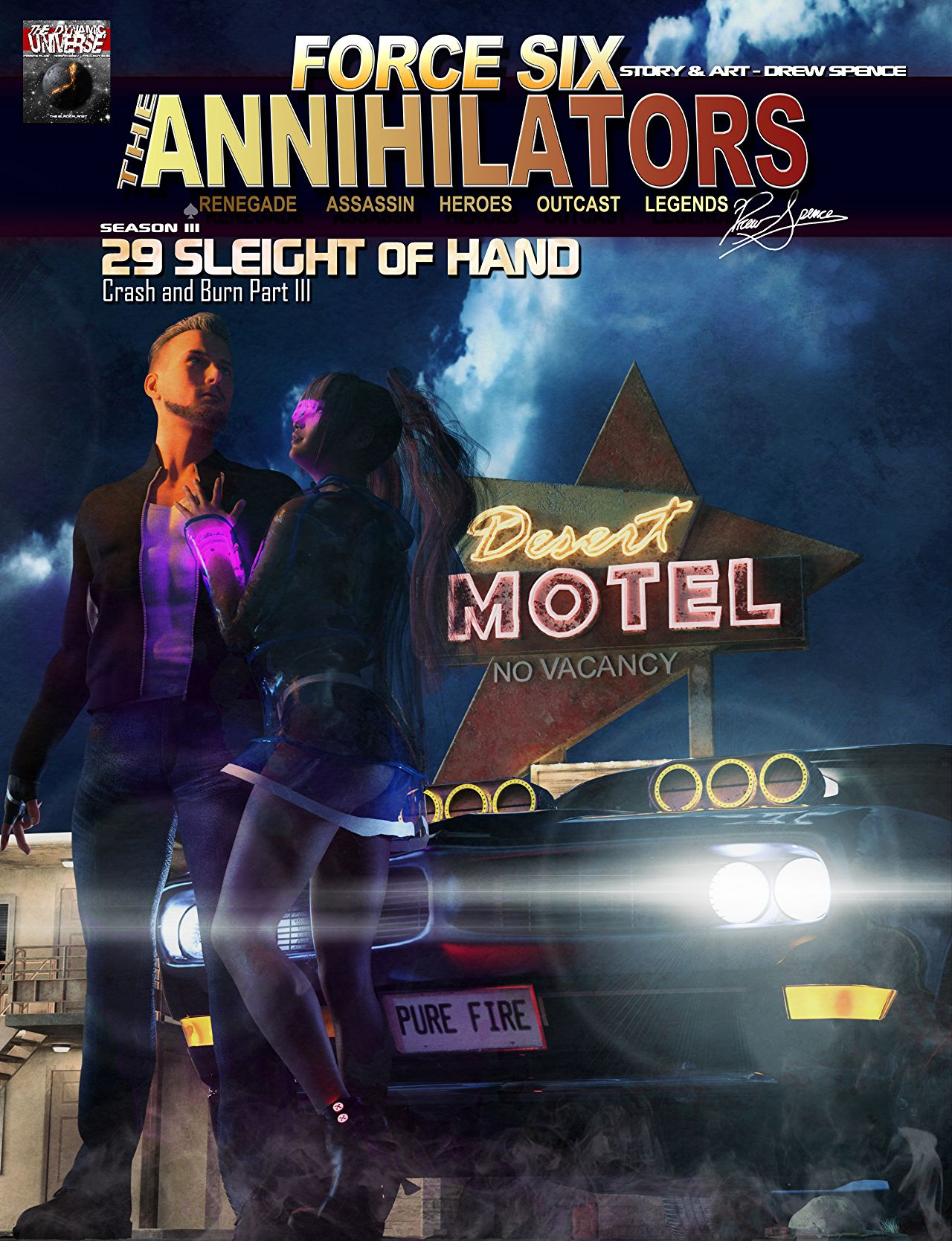 Force Six, The Annihilators episode 29 cover