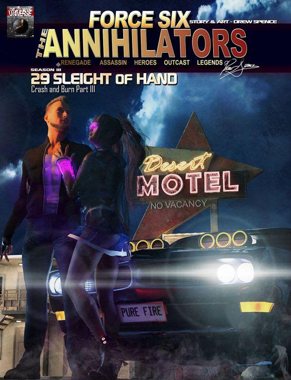 Force Six, The Annihilators episode 29 cover