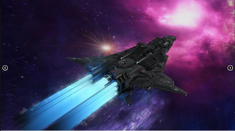 Spaceship artful scene Daz Studio 3D